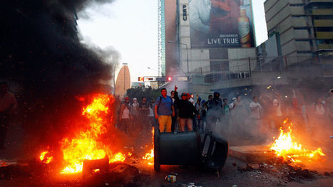 Venezuela coup? Gunfire, clashes as 3 dead in violent Caracas protest (PHOTOS, VIDEO) | Saif al Islam | Scoop.it