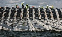 World's biggest floating solar farm powers up outside London   Greenconflict Solutions   Scoop.it