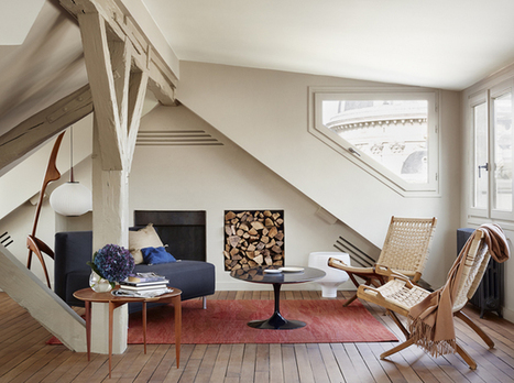 Dwell in Style in Paris · Happy Interior Blog | Interior Design - Interiorisme | Scoop.it