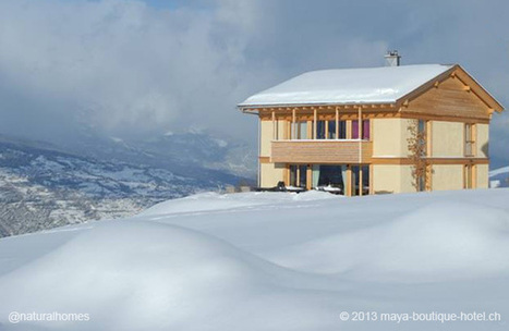 Big Bale Hotel, Switzerland | Small Houses and Sustainable Architecture | Scoop.it