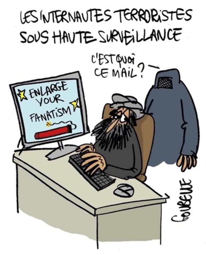 Les internautes terroristes sous haute surveillance | Baie d'humour | Scoop.it