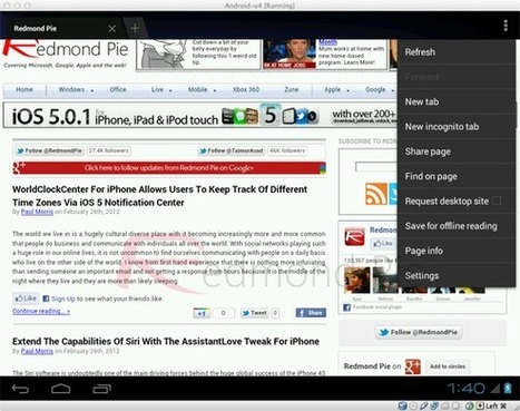 Install And Run Android 4.0 On Mac, Windows PC Or Linux Using VirtualBox Virtual Machine [How-To Tutorial] | Redmond Pie | Android tools and news | Scoop.it