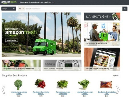 Amazon Fresh : Les analystes financiers prédisent une forte rentabilité. | Numérique et économie | Scoop.it