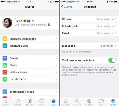 ¿Está a salvo tu privacidad en WhatsApp? | Educar para proteger. Padres e hijos enREDados con las TIC | Scoop.it