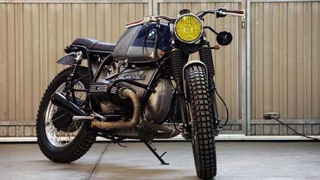 A Scrambled BMW R100/7 [Photo Gallery] - autoevolution | vintage motos | Scoop.it