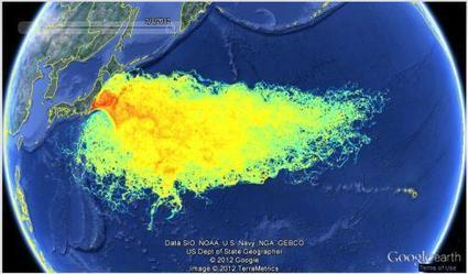 Remember Fukushima: Presenting The Radioactive Seawater Impact Map | ZeroHedge | Gold and What Moves it. | Scoop.it