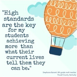 How High Standards are Making a Difference for My Students | Common Core Online | Scoop.it