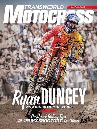 Throwback With Ryan Dungey | News, Videos | Transworld Motocross | Ryan Dungey | Scoop.it
