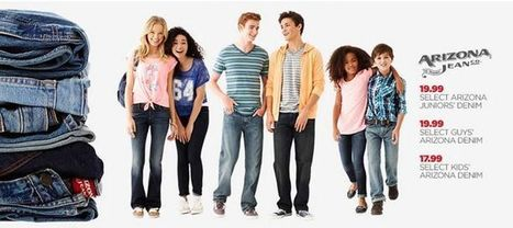 Jcpenney coupons - Arizona Jeans for All | Fashion forever | Scoop.it