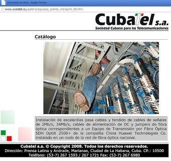 The Internet in Cuba: Speculation on the Cuban Internet backbone | Laredcubana | Internet Development | Scoop.it