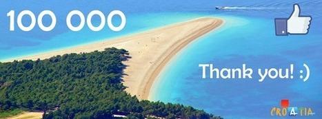 Central Dalmatia Tourist Board Reaches 100000 Fans: Thank You! | Followers | Scoop.it