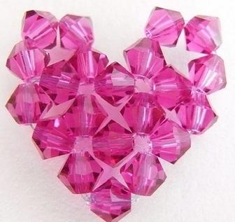 Learning to bead Beaded Hearts Tutorials | DIY Beading | Scoop.it