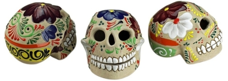 Day of the Dead Skulls | Mexican Furniture & Decor | Scoop.it