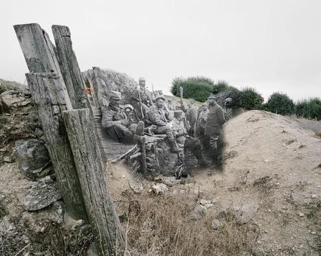 Les soldats de 14-18 revivent dans les paysages d'aujourd'hui - FranceTVinfo | Nos Racines | Scoop.it
