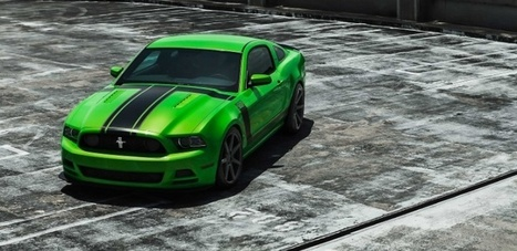 Ford Boss 302 Mustang on Custom Concave Wheels [Photo Gallery] - autoevolution | Mustangs | Scoop.it