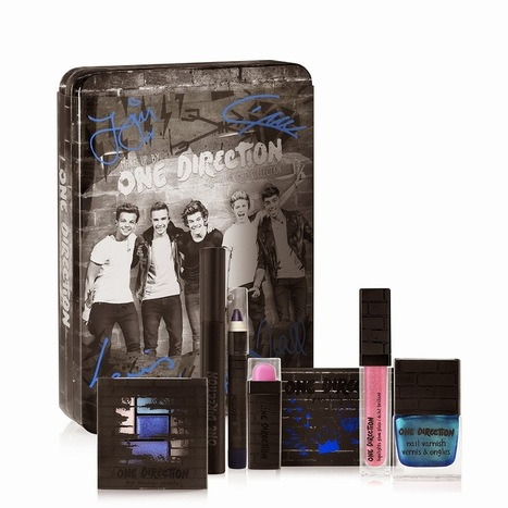 Giveaway: Win Limited Edition Make-up by ONE DIRECTION before it's available to the public! ~ a rain of thought | A Rain of Thought- Music & Entertainment | Scoop.it
