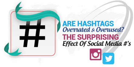 Are Hashtags Overrated And Overused? The Surprising Effect Of Social Media #'s | MarketingHits | Scoop.it
