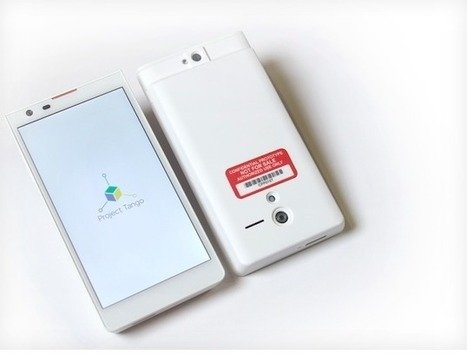 Google announces Project Tango for mapping three-dimensional smartphones | Acne | Scoop.it