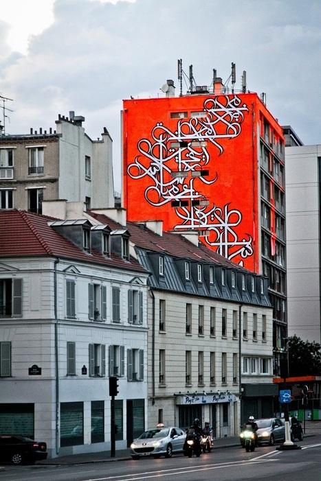 Tour Paris 13 : un immeuble transformé en galerie de Street Art dans le centre de Paris | Immobilier | Scoop.it