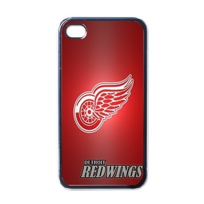 Apple iPhone Case - NHL Detroit Red Wings Hockey Logo - iPhone 4 Case | Merchanstore - Accessories on ArtFire | Custom iPhone 4 or 4S Case Cover | Scoop.it