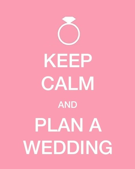 Planning a Wedding and Keeping Your Sanity! | Weddings | Scoop.it