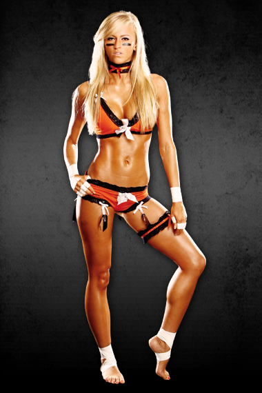 hottest lingerie football players naked