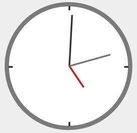 Create A Clock In CSS | Social Media, Innovación | Scoop.it