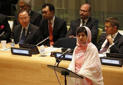 Vídeo: El emotivo discurso que Malala Yousafzai dio frente a los líderes de la ONU en 2013 | Educando ando | Scoop.it