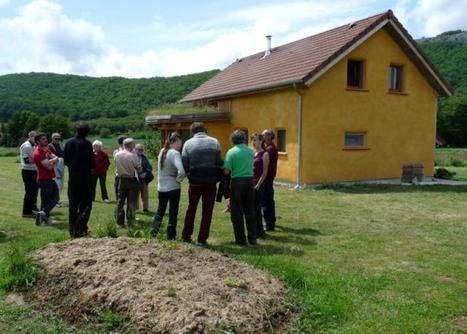 Une maison écolo en paille à Creysse (46) | Architecture écologique | Scoop.it