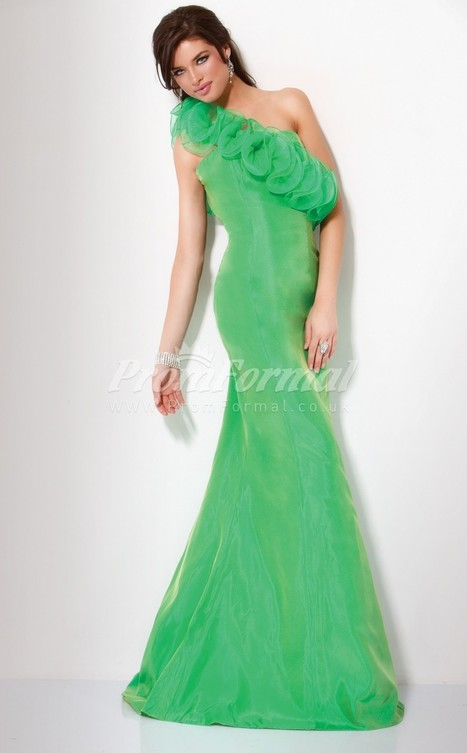 Amazing Organza Halter Trumpet/Mermaid Sweep Train Evening Dress(PRJT04-0559) - promformal.co.uk | Prom & Formal | Scoop.it