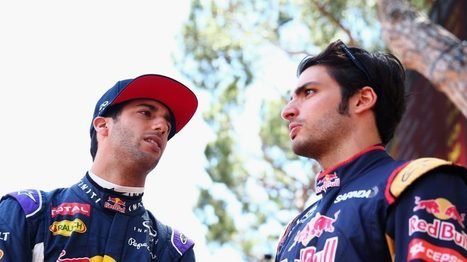 Ricciardo and Sainz to lead Red Bull demo in Mexico | F 1 | Scoop.it