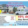 Bob's Window Cleaning & Screen