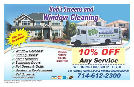Hire Bob's Window Cleaning & Screen for window washing in Corona CA | Bob's Window Cleaning & Screen | Scoop.it