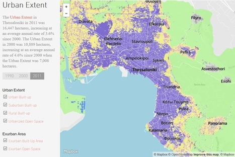 Atlas of Urban Expansion: a global sample of 200 cities | Smart Cities in Spain | Scoop.it