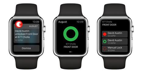 August Smart Lock app update turns Apple Watch into a door key | Wearable Devices | Scoop.it