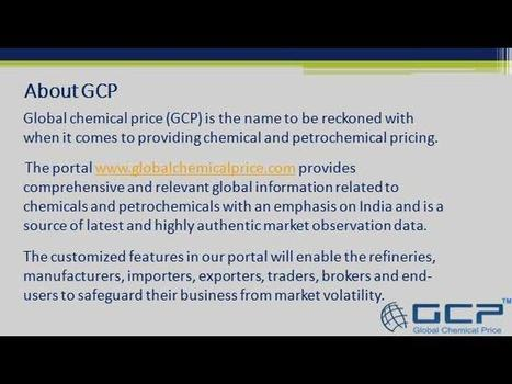 Global chemical price | Global chemical price for Indian market | Scoop.it