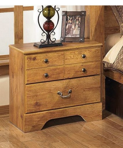 Bittersweet Two Drawer Night Stand Light Brown | Home - Office Accessories | Scoop.it