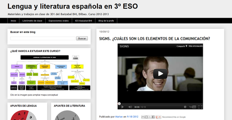 Lengua y literatura española en 3º ESO | TIC, educación y demás temas | Scoop.it