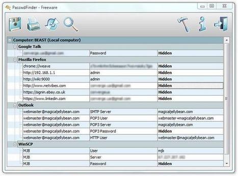 PasswdFinder, encuentra las contraseñas perdidas que almacenas en tu PC | Sitios y herramientas de interés general | Scoop.it
