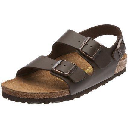 $@$   Birkenstock Milano 34103, Unisex – Erwachsene Sandalen/Outdoor-Sandalen aus Naturleder, Braun (Dunkelbraun), EU 49 (schmal) | Birkenstock Online Shop | Scoop.it