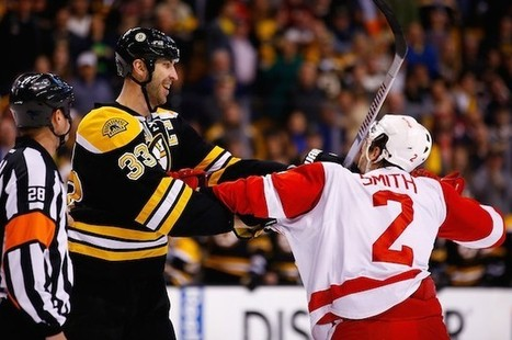 What would have happened if Brendan Smith and Zdeno Chara had really fought? | Post-to-Post | Zdeno Chara | Scoop.it