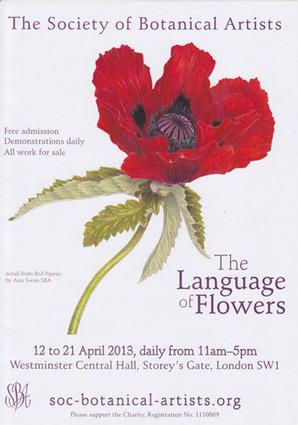 "MAKING A MARK: Society of Botanical Artists: ""The Language of ... | botanical | Scoop.it"