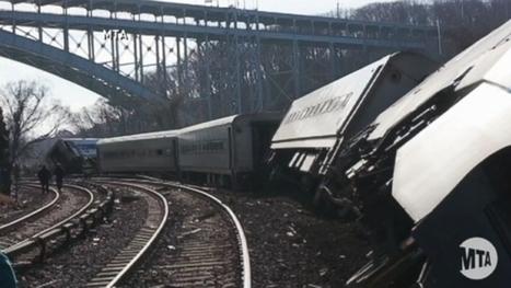 NYC Train Derailment Airs Queries About Technology - ABC News | CLOVER ENTERPRISES ''THE ENTERTAINMENT OF CHOICE'' | Scoop.it