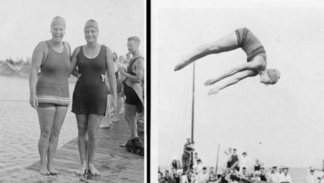 Women in Water: A History of Incredible Female Swimmers (Photo Gallery) | PPSL | Scoop.it