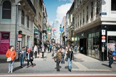 Les passants délaissent la rue Neuve depuis le piétonnier | Politici in Brussel | Scoop.it