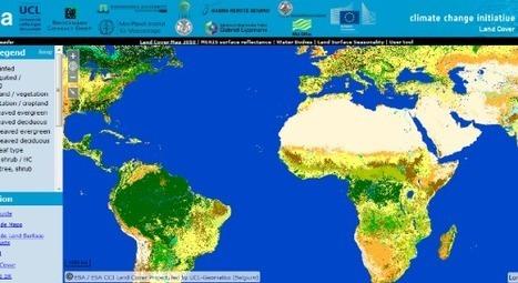 La ESA ha actualizado su mapa mundial sobre la cobertura vegetal * | Nuevas Geografías | Scoop.it