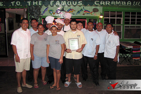 Caramba Restaurant Recognized with International Catering Award   Belize in Social Media   Scoop.it