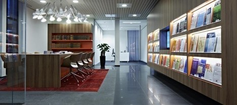 Professional Yet Creative: Check Out 4 Awesome Professional Offices | Office Environments Of The Future | Scoop.it