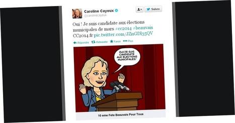 Municipales 2014 : la sénatrice-maire UMP de Beauvais, Caroline Cayeux, annonce sa candidature sur les réseaux sociaux avec Bitstrips | Web en politique | Scoop.it