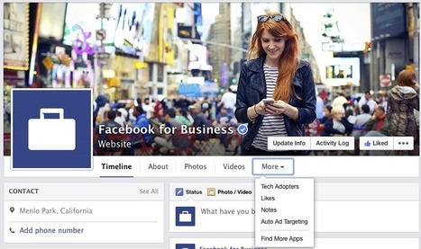 Facebook pages redesign puts focus back on News Feed content | MarketingHits | Scoop.it